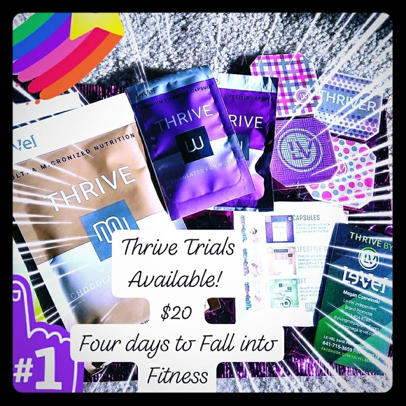 Le-Vel Other - Four Day Thrive Trials- women's or men's